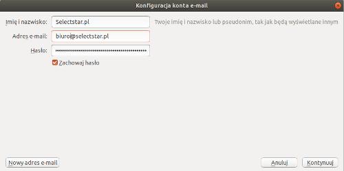 166b177b322b05 Jak skonfigurować pocztę w programie Mozilla Thunderbird ⋆ Blog ...
