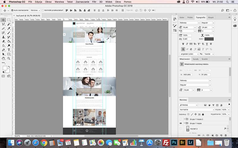 Projektowanie grafika strony www